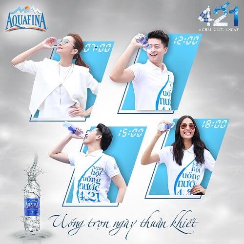 nước đóng chai Aquafina