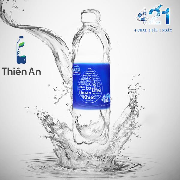 Nước uống tinh khiết aquafina có tốt không?