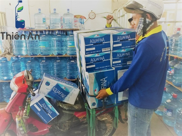 đại lý nước tinh khiết Aquafina tại tphcm - Công ty Thiên An